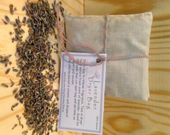 3 Lavender Dryer Bags