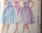 1960s McCalls Dress Pattern 5359 size 12 bust 32