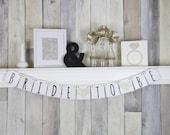 Bridal Shower Banner, Bridal Shower Decor, Bride to Be Banner, Bride To Be, Bridal Shower, Wedding Banner, Wedding Sign, Bachelorette Banner