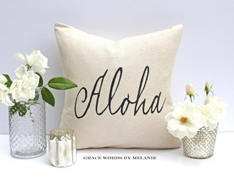 ALOHA 18 x 18 Pillow Cover