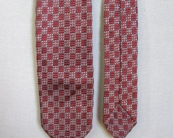 Vintage late 1950s Mens Lido Rayon Necktie