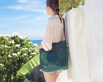 SALE. COPENHAGEN.Leather bucket bag / leather bag / boho leather shoulder bag / large leather bag / oversized bag / large leather bag / tote