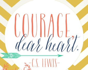 Courage, Dear Heart by C. S. Lewis