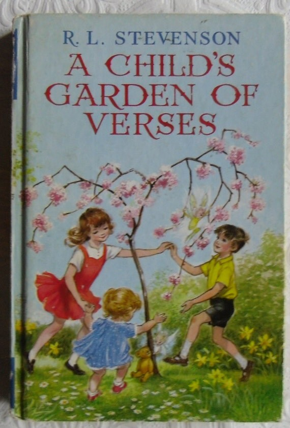 Vintage Childrens Book A Child 39 S Garden Of Verses