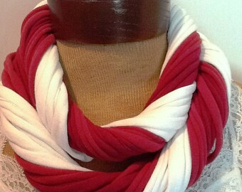 Miami University RedHawks - Infinity T Shirt Scarf Belt