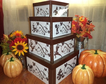 Disney Silhouettes 4 Tier Box Set / One of a kind set