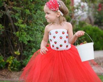 Strawberry Sweetie Tutu Dress