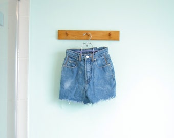 Cut off LOIS jeans - trash, torn, bleached and washed-out