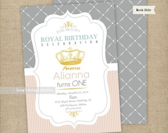 Royal Princess Birthday Invitation | Printable