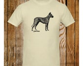 Great Dane T-Shirt Vintage Illustration