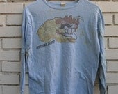 Vintage MOTHER LODE Long Sleeve Shirt - 100% cotton - 1960's pop rock canada when i die