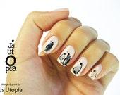 Penguin Nail Sticker
