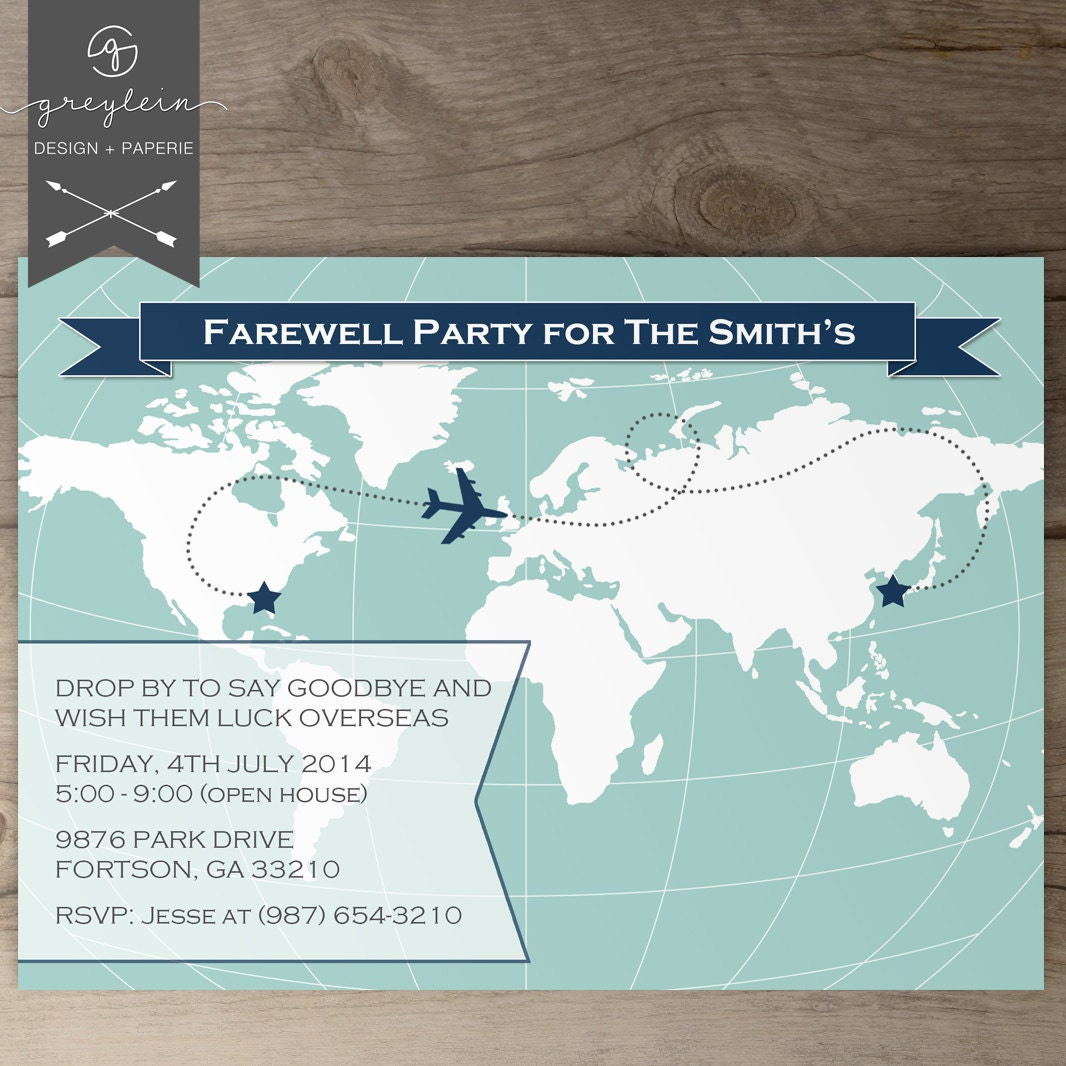 Similiar Going Away Party Invitations Keywords – Invitations for Going Away Party