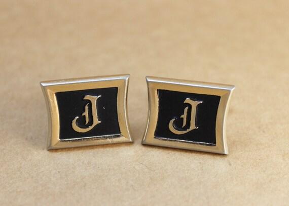 Surname Vintage letter j choose, how