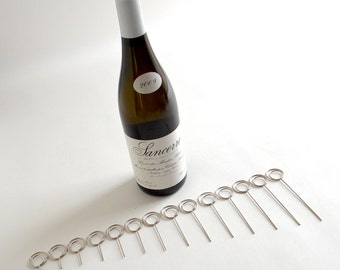Single Cut-To-Order Wire Memo Clips DIY Table Number Holders - Stands - Holders - Wires -