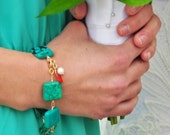 Turquoise Squares Chain B...