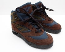 "Rare 90's Vintage ""HI-TEC"" Hiking Boots Sz: 5.5 (Women's Exclusive)"