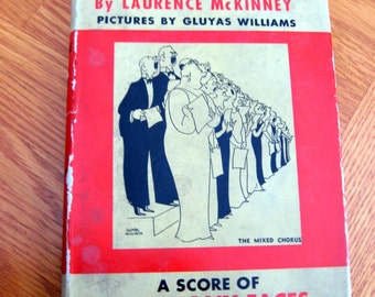 SALE 1943 People of Note by Laurence McKinney Illustrated by Gluyas Williams