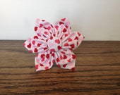 Cat or Dog Collar Flower - Valentines Day Hearts