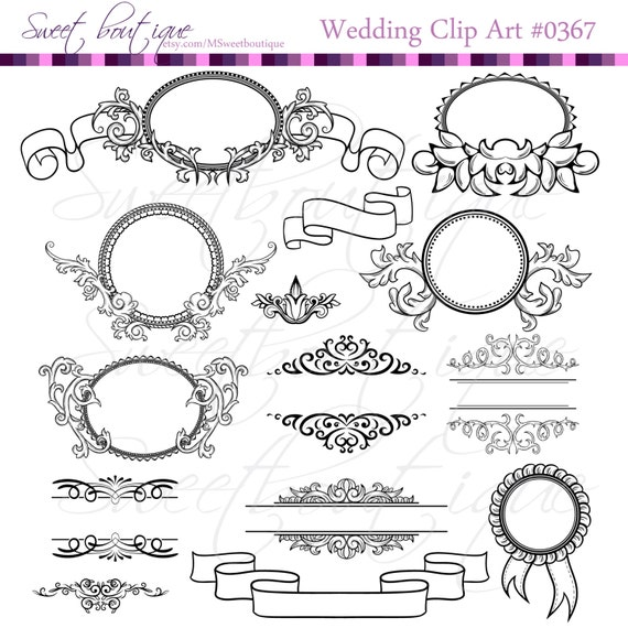 free wedding scrapbook clipart - photo #40