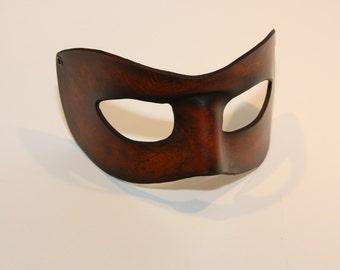 20%Sale, steampunk leather mask