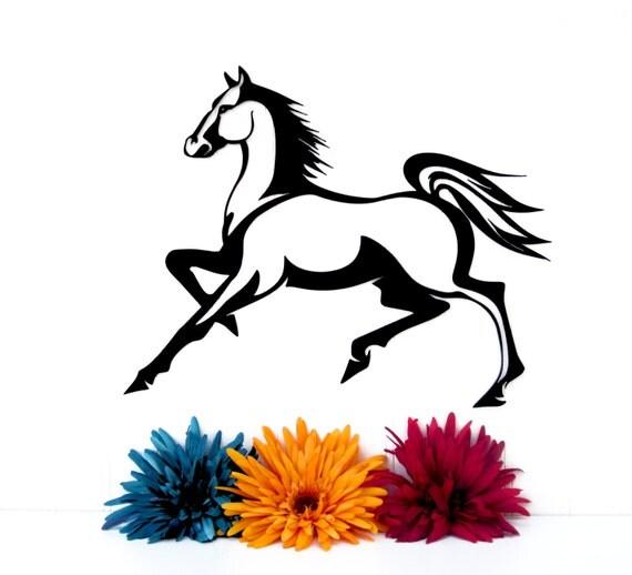 Horse Silhouette Wall Art Horse Silhouette Metal Wall