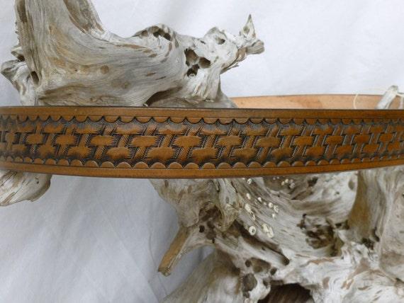 Basket Weave Belt