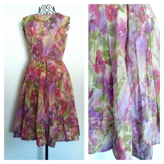 Etsy Find: Floral Vintage Dress at rorylaruevintage