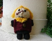 "Tyrion  Doll, approx. 6"" Tall, Hand Knitted"