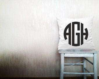 Decorative throw pillows monogram pillow cover monogrammed pillow pillow throw pillow monogrammed pillow cover 12x16 inches pillow