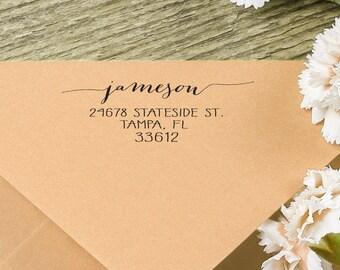Return Custom Address Stamp - Self Inking Address Stamp - Personalized Stamp - Return Address Stamp - Custom Address Stamp
