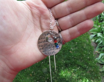 Uncle Iroh from Avatar the Last Airbender Quote Necklace