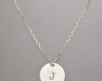 Personalized Necklace, Sterling Silver, custom-made