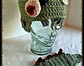 Zombie Hat Pattern - sizes newborn through xl adult - PATTERN ONLY!!!!! Crochet Pattern