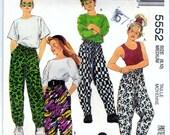 McCalls 5552 Pattern Boys and Girls PANTS Size Medium 8-10 UNCUT