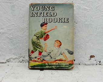 Young Infield Rookie Charles Coombs First Edition Hardback with Dust Jacket. 1954