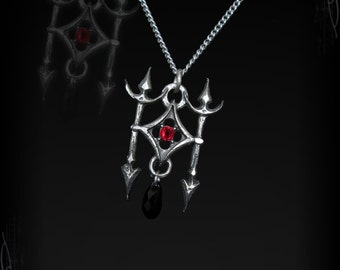 gothic necklace, Lances of the Usurper