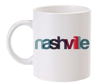 Nashville Mug   Nashville Coffee Mug   Nashville Gift   Tennessee Gift