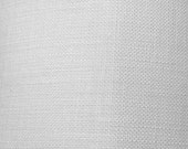 Linen Cloth, Bleached/White - fabric sold by the half yard