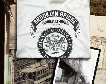 Brooklyn Bridge Park Brooklyn N.Y.  T-shirt