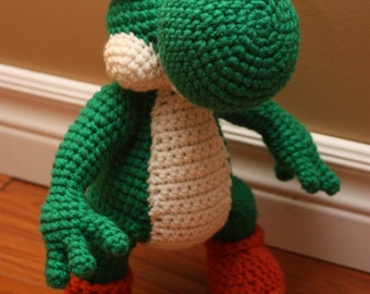 Crochet Patterns Yoshi : crochet pattern yoshi and yoshi egg pattern pdf 3 77 ...