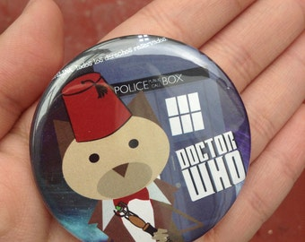 Doctor Who. pinback button 2.16 in
