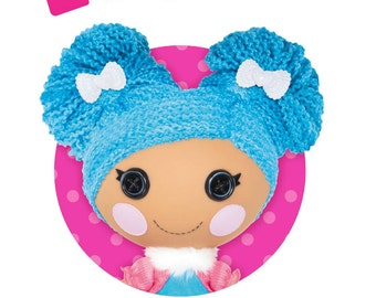 Lalaloopsy Birthday Personalized Iron On Transfer - DIY No Sew