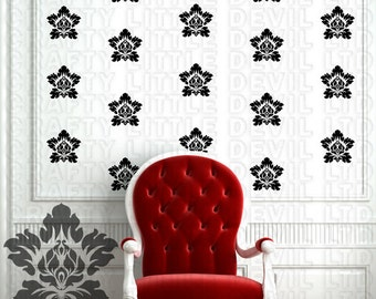 Damask Wall Decal  ( 18 pack )