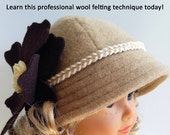 Pixie Faire Miche Designs Modern Cloche Hat  Doll Clothes Pattern for 18 inch American Girl Dolls - PDF