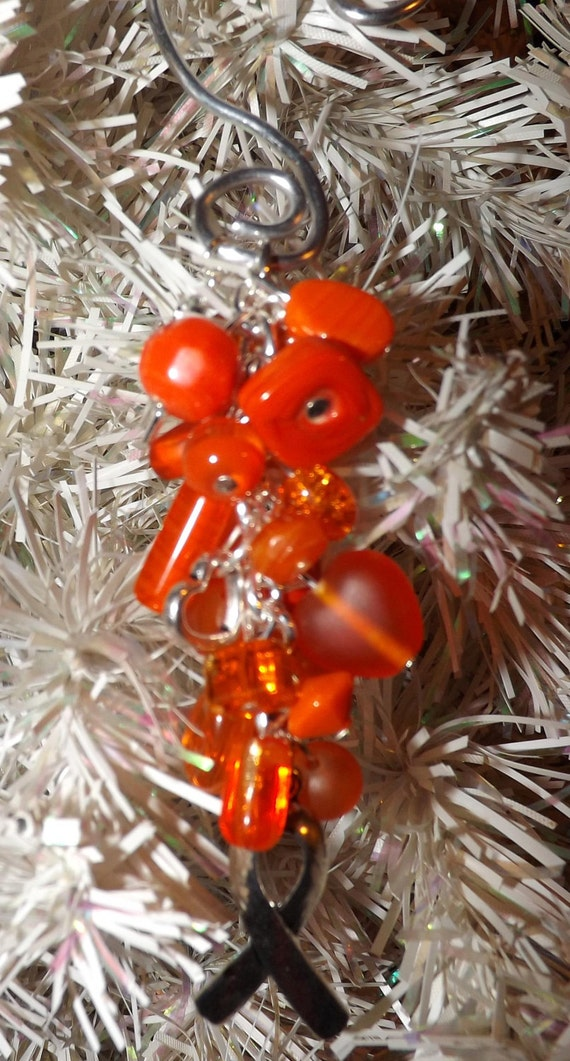 Orange Awareness Ornament