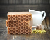 Bee Mine Soap, Goat Milk & Honey Soap, Handmade Soap, Homemade Soap, Synergy Soap, Beeswax Soap, Honeycomb Soap, Bars of Soap