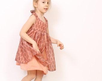 Girls dress patterns pdf - Nohara dress for toddler - INSTANT DOWNLOAD - children sewing patterns