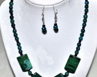 Green and Blue Australian Jasper