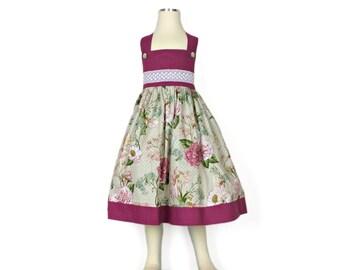 Handmade girls fairy dress.  Sundress, summer dress, party dress